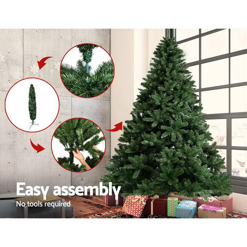 Jingle Jollys 8FT Christmas Tree - Green