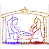 Jingle Jollys Motifs Lights - Nativity Scene