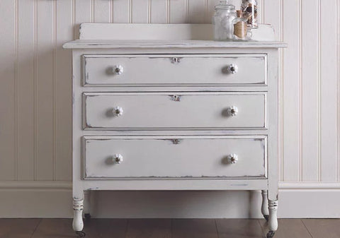 Upcycle tired furniture with specialist paint from Home Hardware