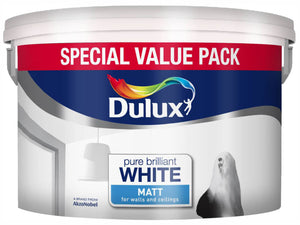 Matt Pure Brilliant White Special Value Pack 7L