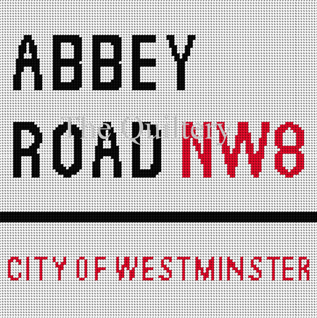 The Quiltery London Series 'Abbey Road' Tapestry Kit
