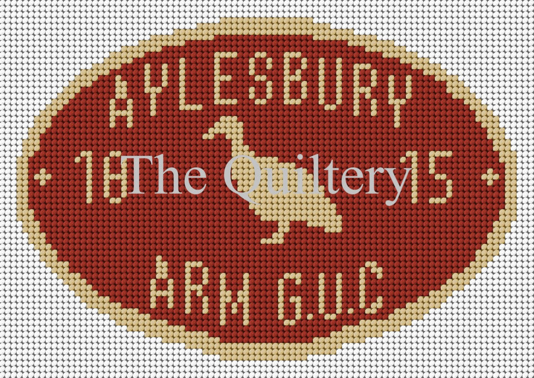 Aylesbury Arm Canal Plaque Tapestry Kit