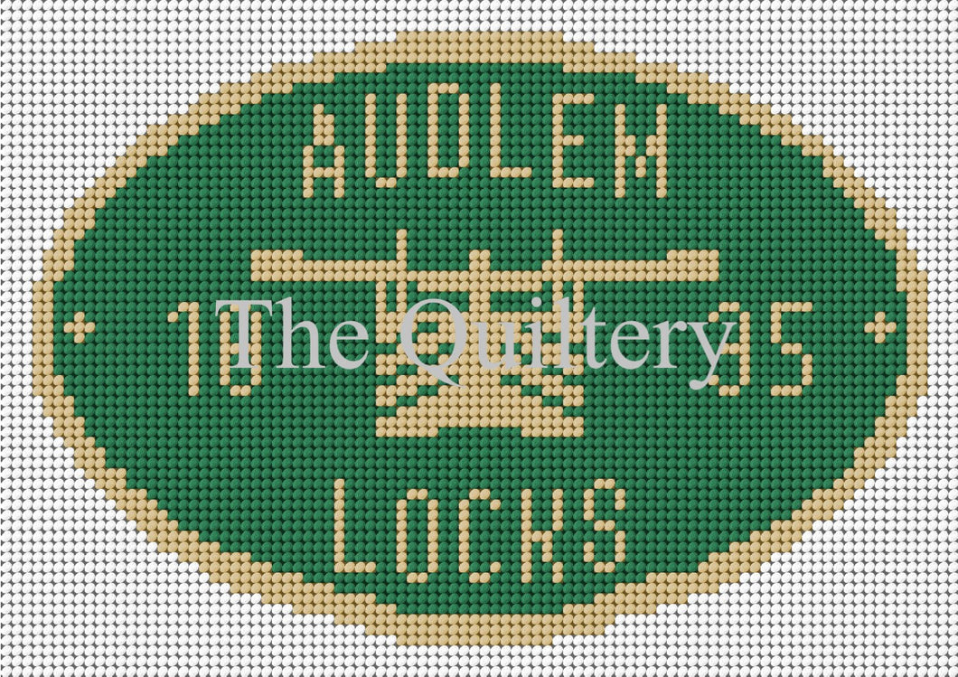 Audlem Locks Canal Plaque Tapestry Kit