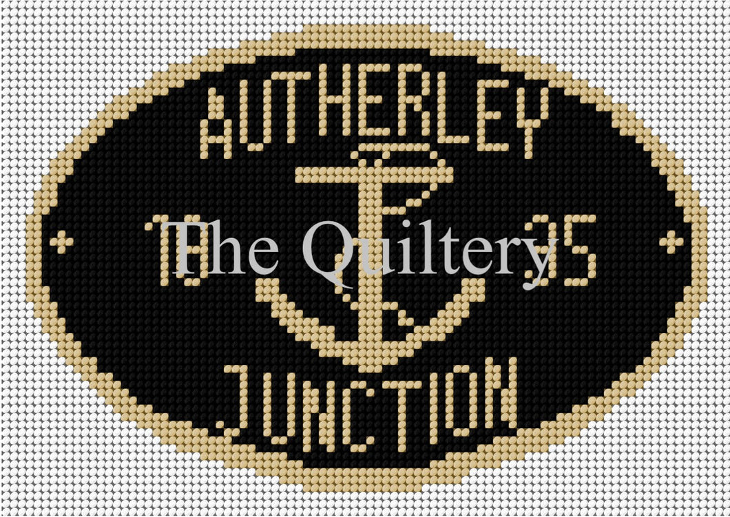 Autherley Junction Canal Plaque Tapestry Kit