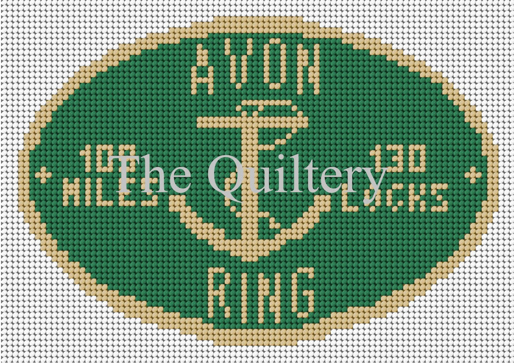 Avon Ring Canal Plaque Tapestry Kit