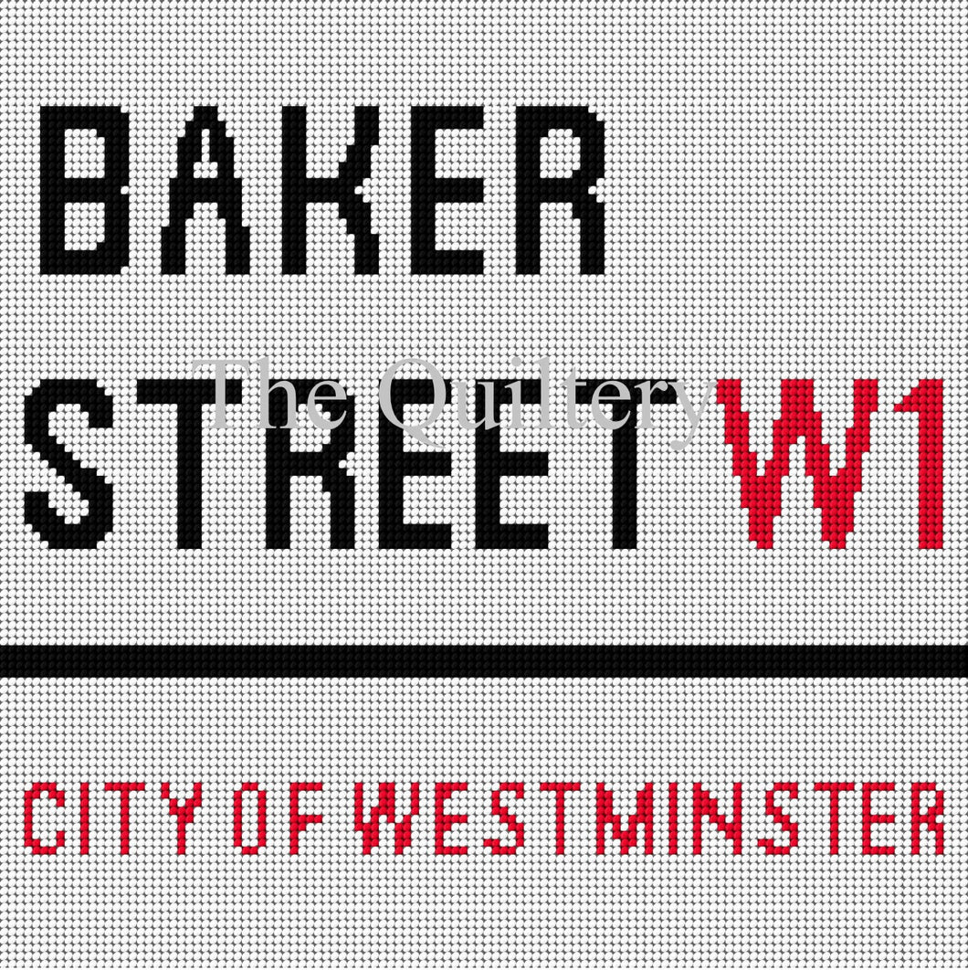 The Quiltery London Series 'Baker Street' Tapestry Kit