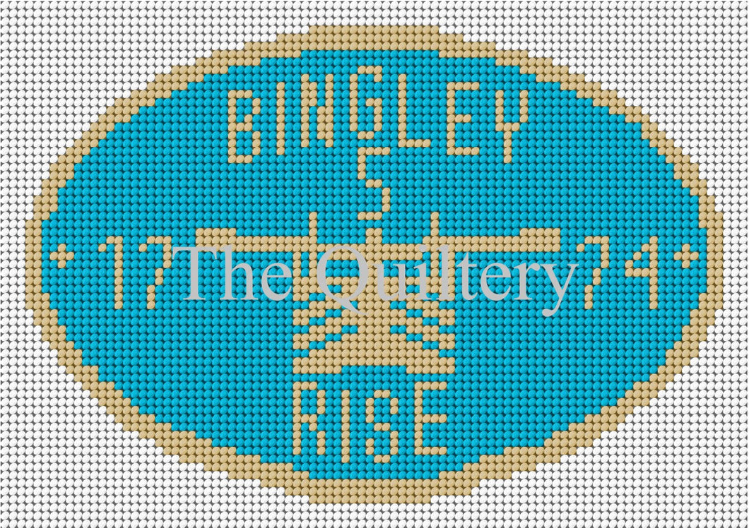 Bingley Rise Canal Plaque Tapestry Kit