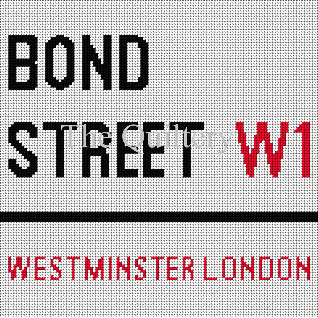 The Quiltery London Series 'Bond Street' Tapestry Kit