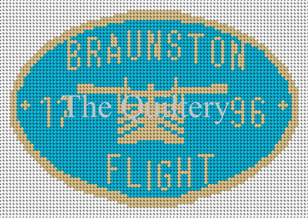 Braunston Flight Canal Plaque Tapestry Kit