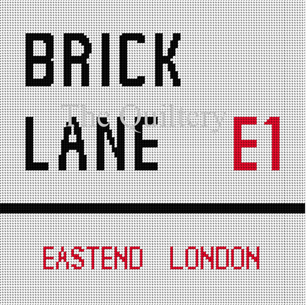 The Quiltery London Series 'Brick Lane' Tapestry Kit
