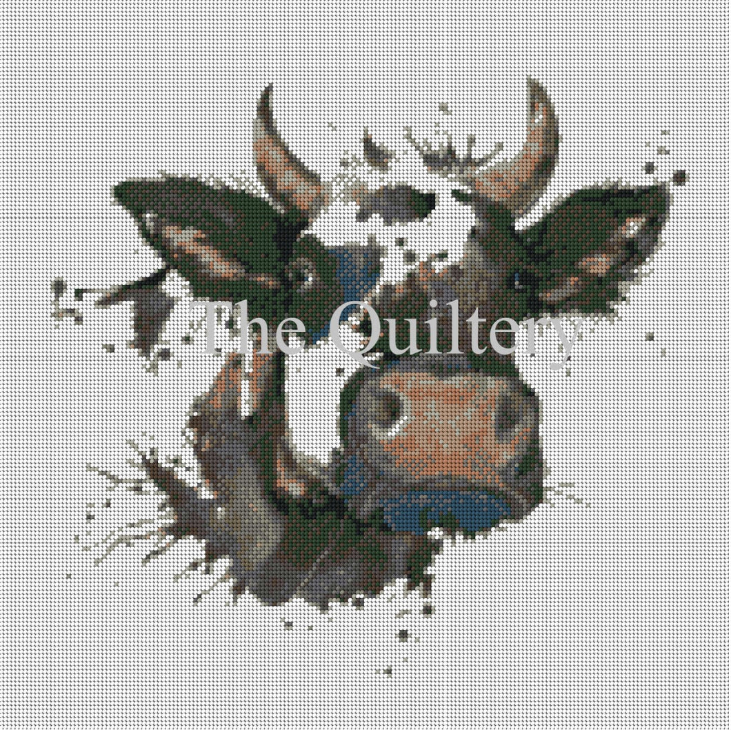 The Quiltery 'Chapelle' The Cow Tapestry / Needlepoint Kit