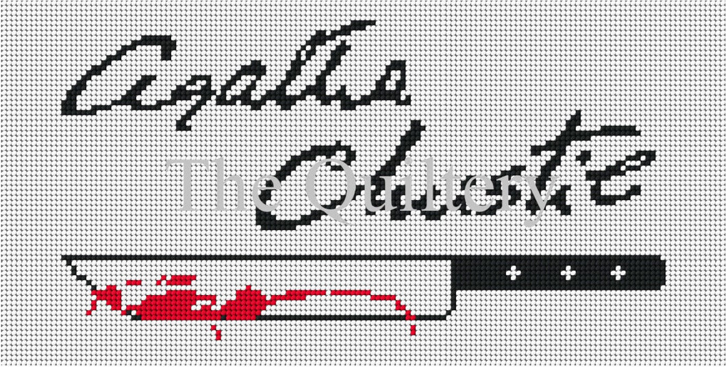 The Quiltery Signature Series 'Agatha Christie' Tapestry Kit