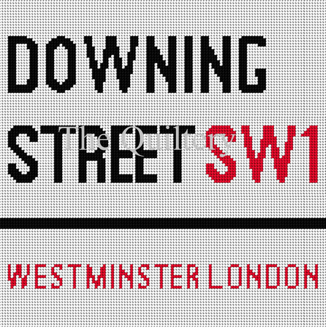 The Quiltery London Series 'Downing Street' Tapestry Kit