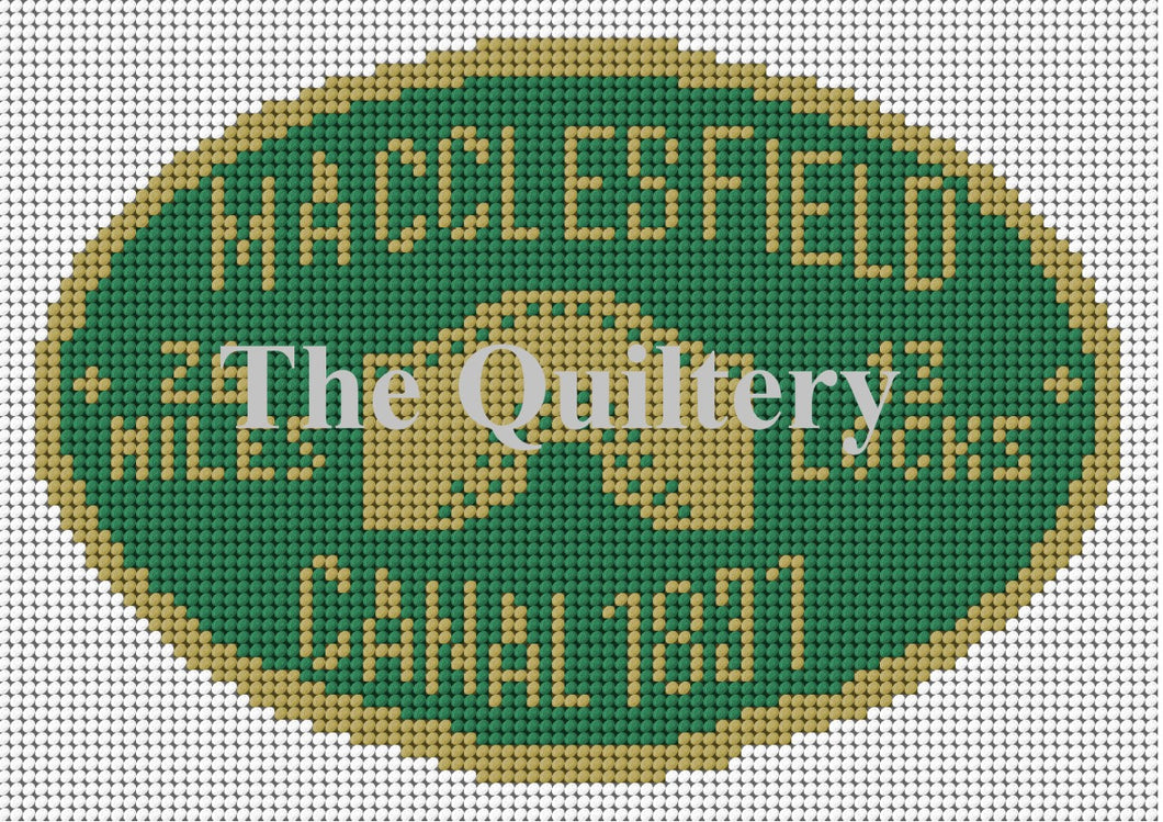 Macclesfield Canal Plaque Tapestry Kit