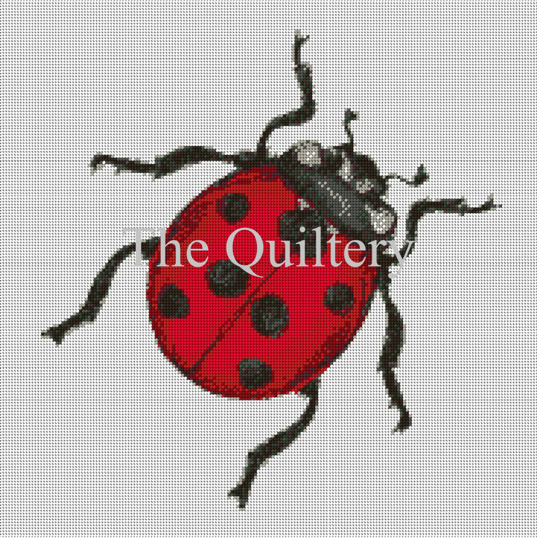 The Quiltery 'Sheila' The Ladybird Tapestry / Needlepoint Kit
