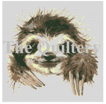 Load image into Gallery viewer, The Quiltery 'Harold' The Sloth Tapestry / Needlepoint Kit
