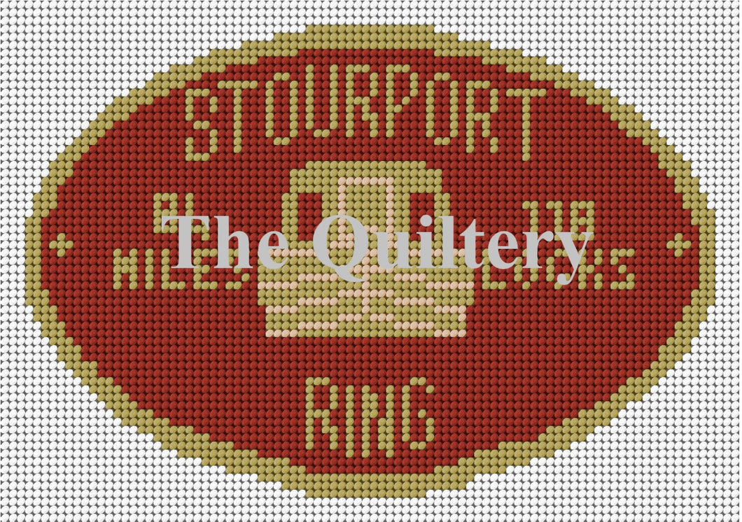 Stourport Ring Canal Plaque Tapestry Kit