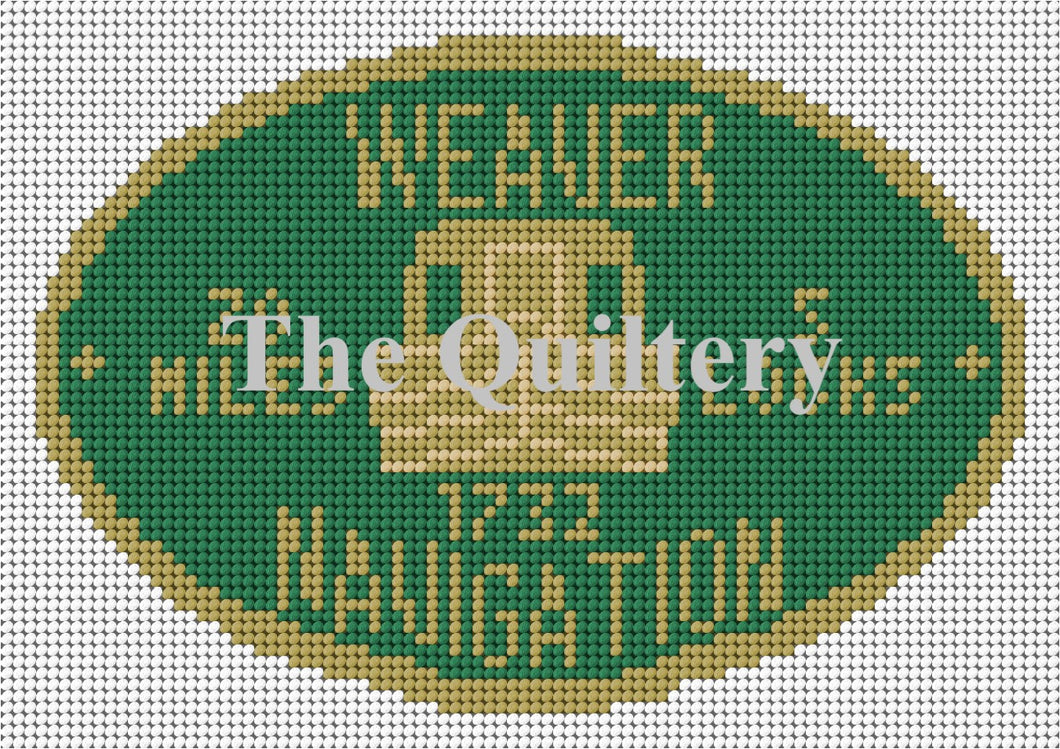 Weaver Navigation Canal Plaque Tapestry Kit