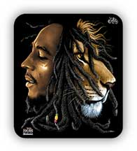 Bob Marley Face Lion Sticker