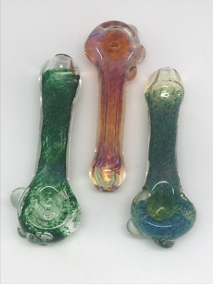 Chib Cha Glass Frit Fume Bullet Pipe