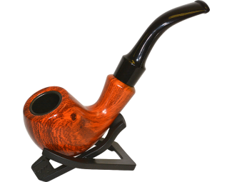 Classic Sherlock Pipe Wood Grain with Flair