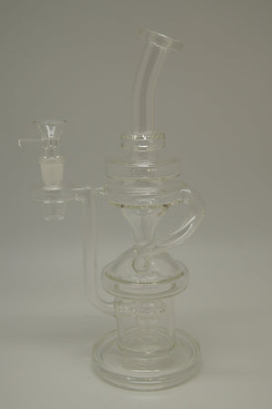 Clear Rings Tall Recycler