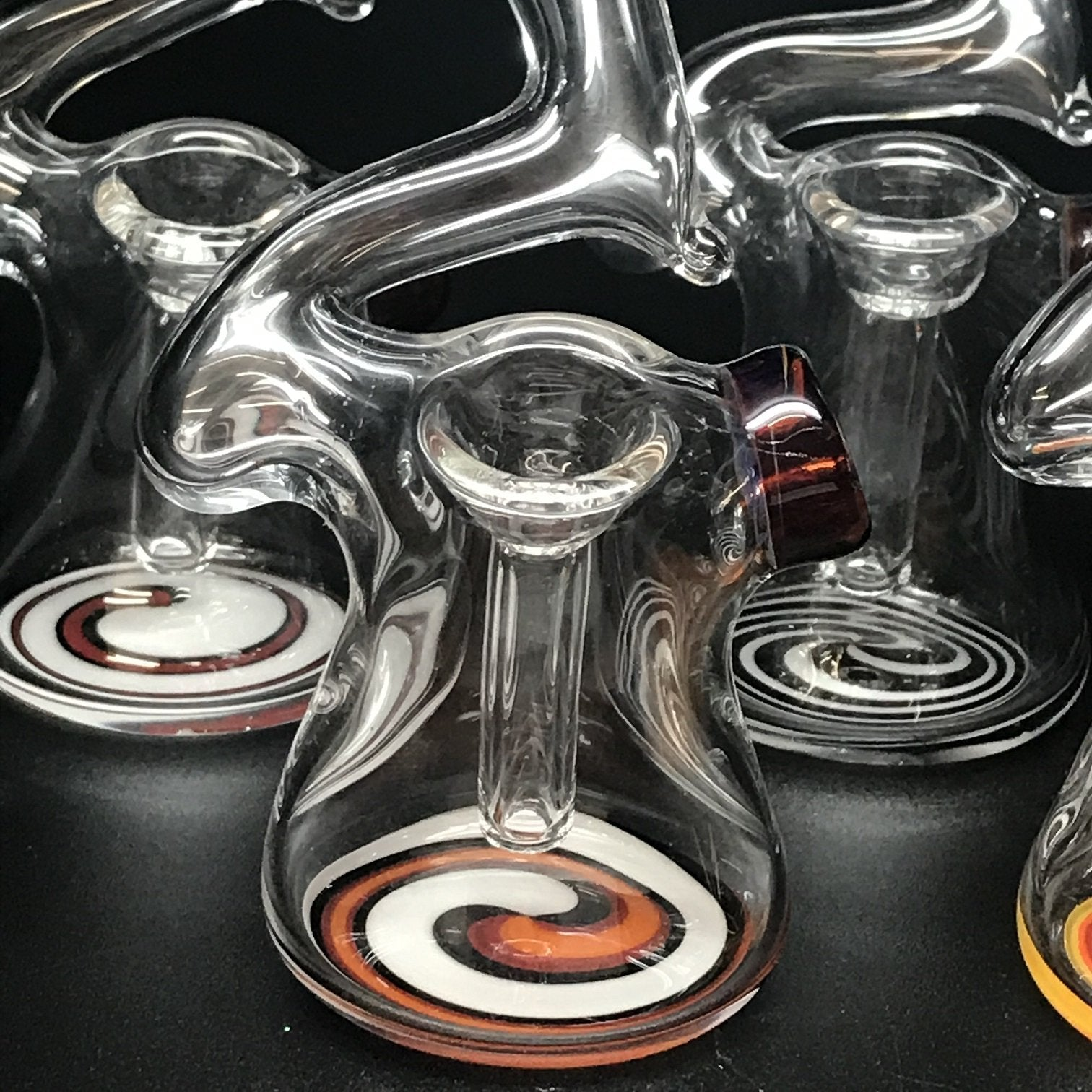 Clint Carpenter Zig Zag Linework Bottom Bubbler