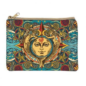 Sun & Mermaids Coin Purse