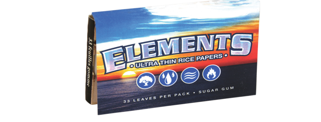 ELEMENTS® 1 ¼ Ultra Thin Rice Papers