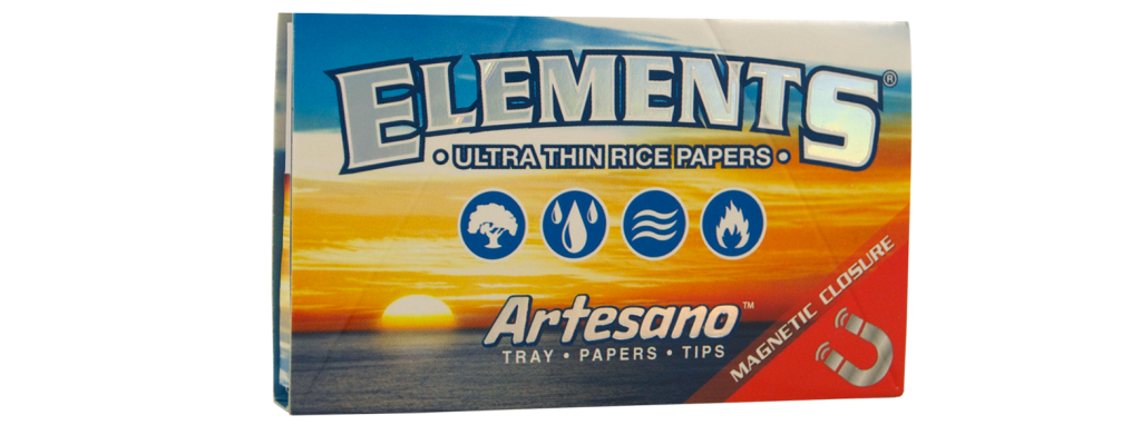 ELEMENTS® ARTESANO 1 ¼ Ultra Thin Rice Rolling Papers
