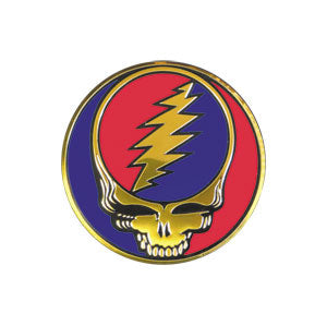Grateful Dead Steal Your Face Metal Sticker 1.5""