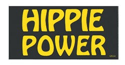 Hippie Power Bumper Sticker