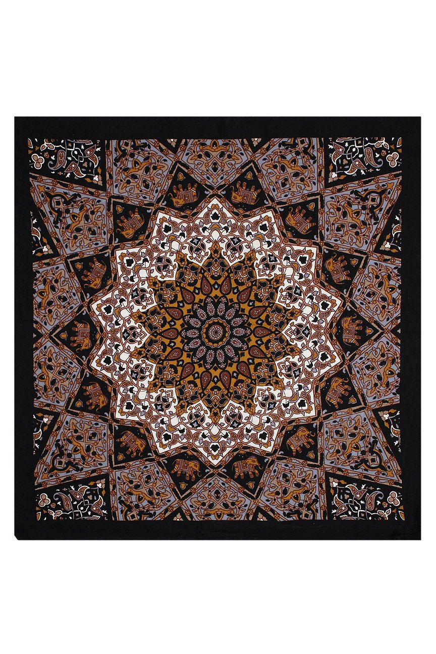 India Star Bandana (Brown)
