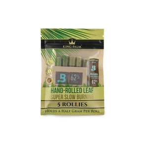 King Palm Rollie 5 Pack with Boveda