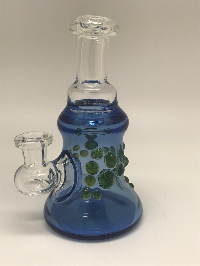 Ninja Pancakes Glass Blue Rig