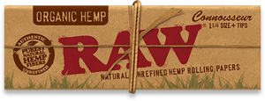 RAW Organic Hemp Connoisseur Papers 1¼