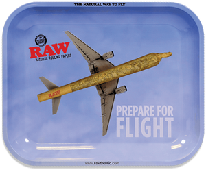 RAW Prepare For Flight Rolling Tray - Large
