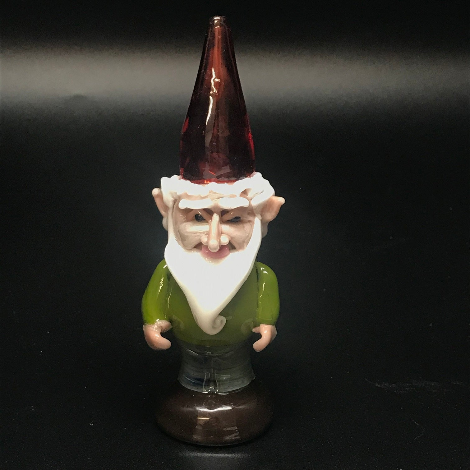 Tammy Baller Glass Gnome Pipe