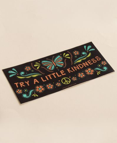 Try a Little Kindness Sticker