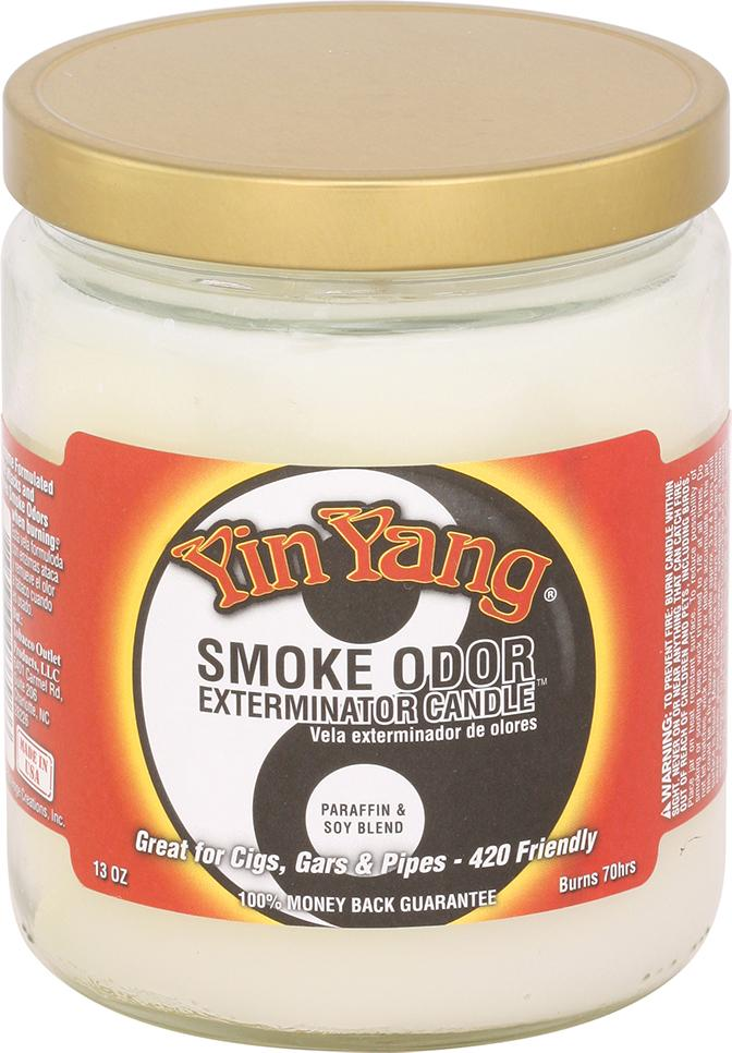 Yin Yang Smoke Odor Candle