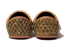 Load image into Gallery viewer, Tara Star- Beaded Women's Jutti Flats