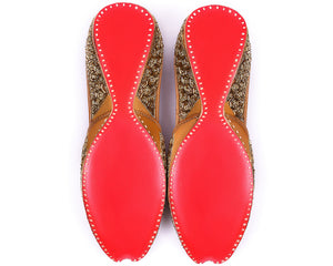 Tara Star- Beaded Women's Jutti Flats