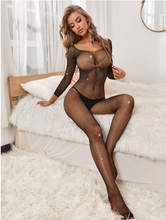 Load image into Gallery viewer, Bedazzled Full Body Stocking