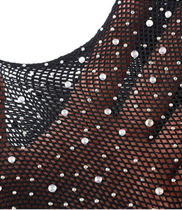 Bedazzled Full Body Stocking