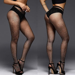 Bedazzled Pantyhose