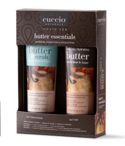 Butter Essentials Kit Vanilla Bean & Sugar Gift Pack