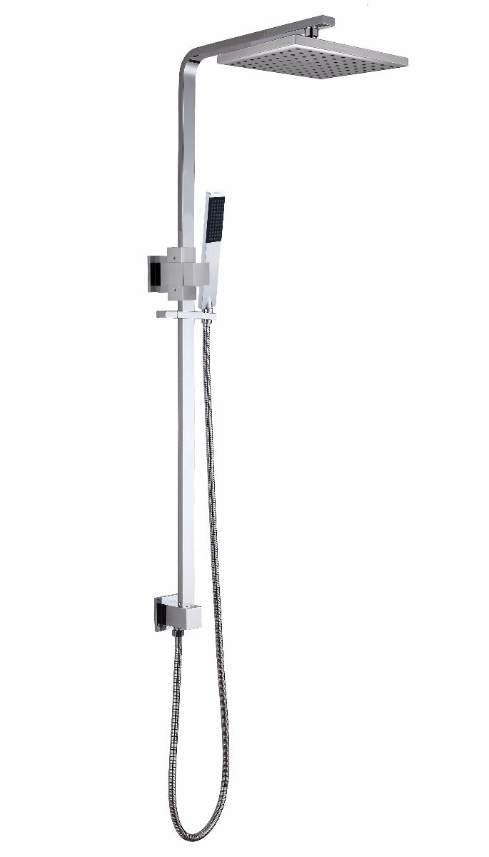 2-in-1 Massage Hand Shower & Head Tap Bathroom Mixer