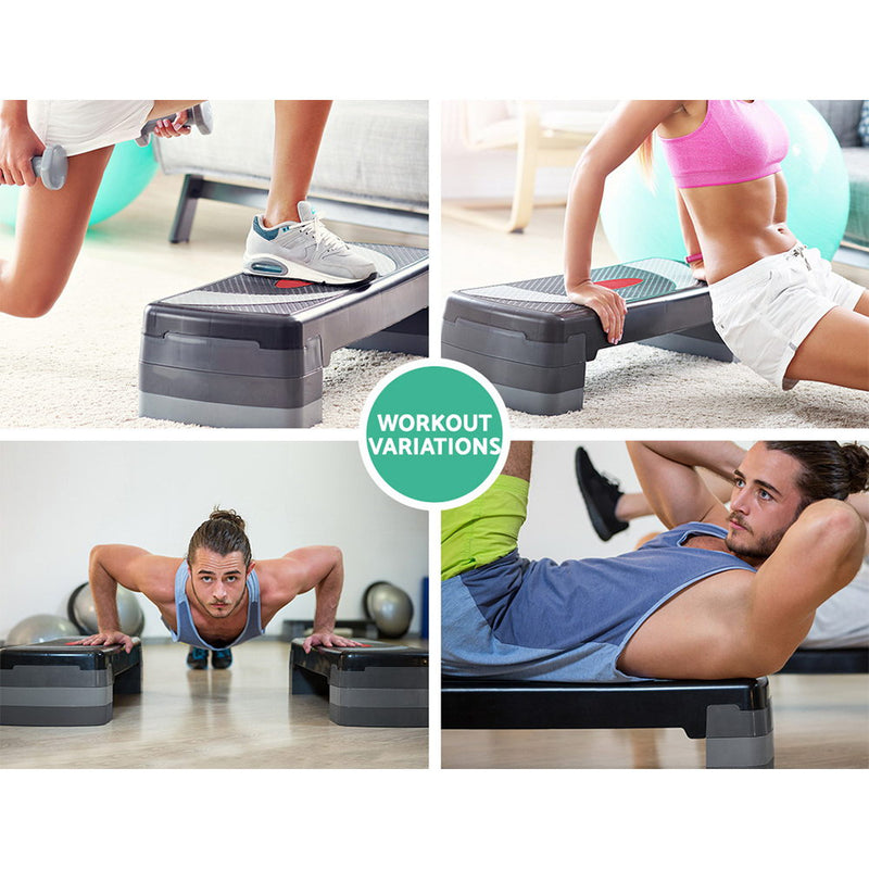 Everfit 3 Level Aerobic Step Bench - Sale Now