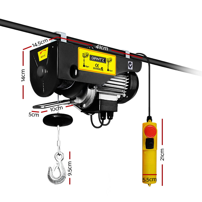 Giantz 1300w Electric Hoist winch - Sale Now