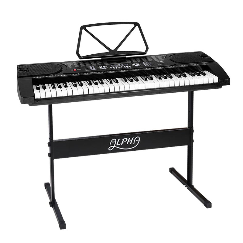 ALPHA 61 Keys LED Electronic Piano Keyboard